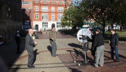 Alice Hawkins Filming 2