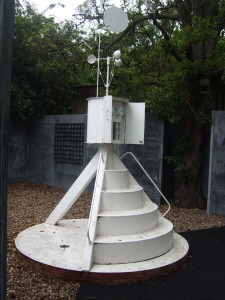 Flintham Museum's weather station