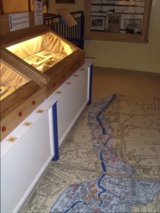 Exhibition on the Louth flood at Louth Museum