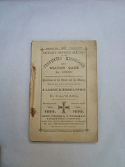 Almanac/Weather Guide for 1899