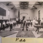 Gym class at the Railway Servants Orphanage