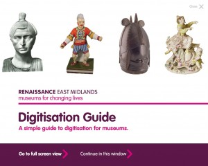 Front cover of simple guide to digitisation